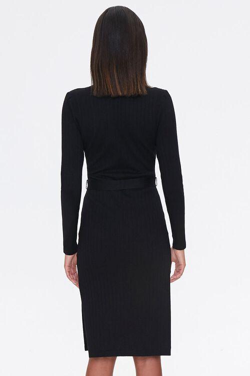 Ribbed Mock Neck Dress, image 3