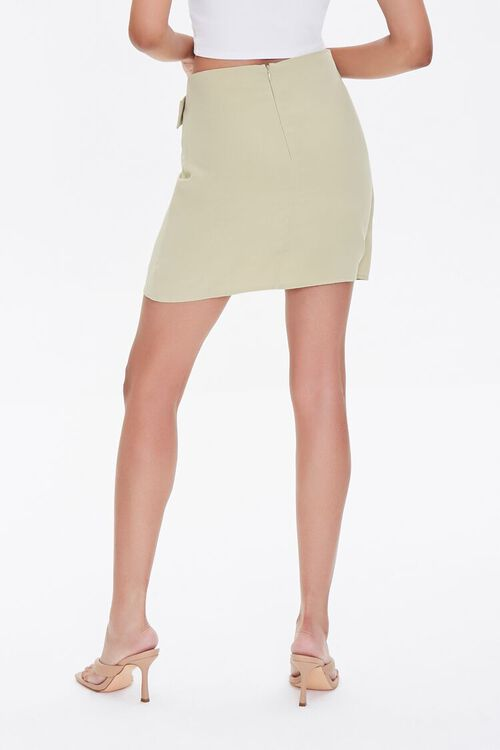Belted Wrap Skirt, image 4