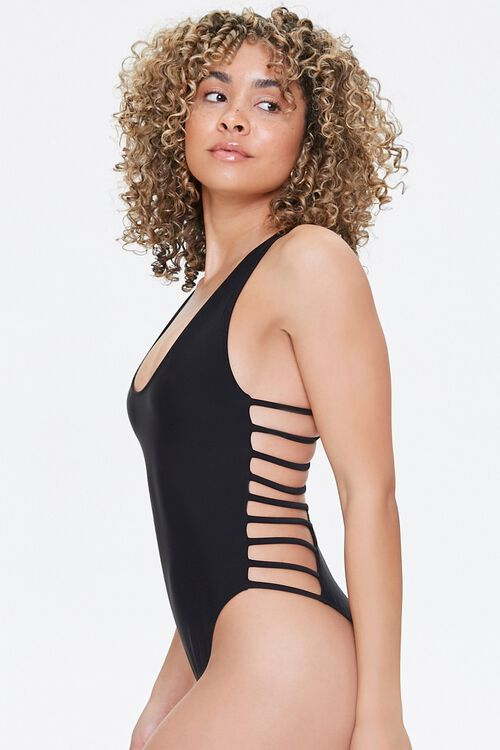 Ladder One-Piece Swimsuit, image 2