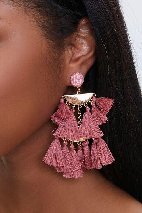 Tassel Chandelier Earrings, image 1
