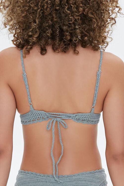 Crochet Triangle Bikini Top, image 3