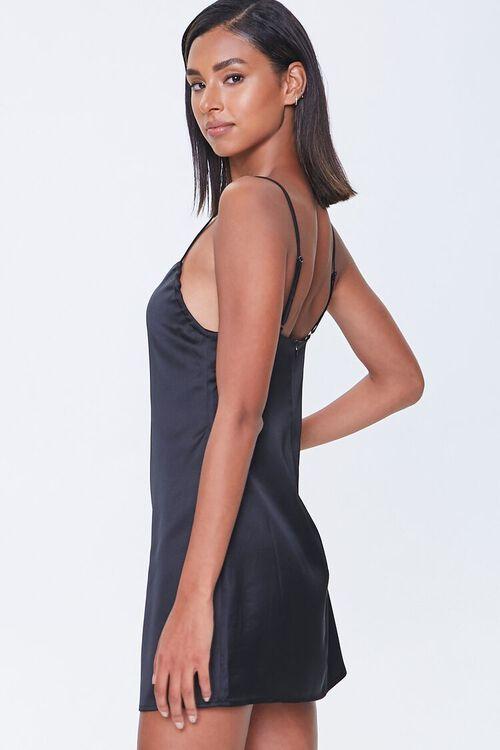 Satin Mini Cami Dress, image 2