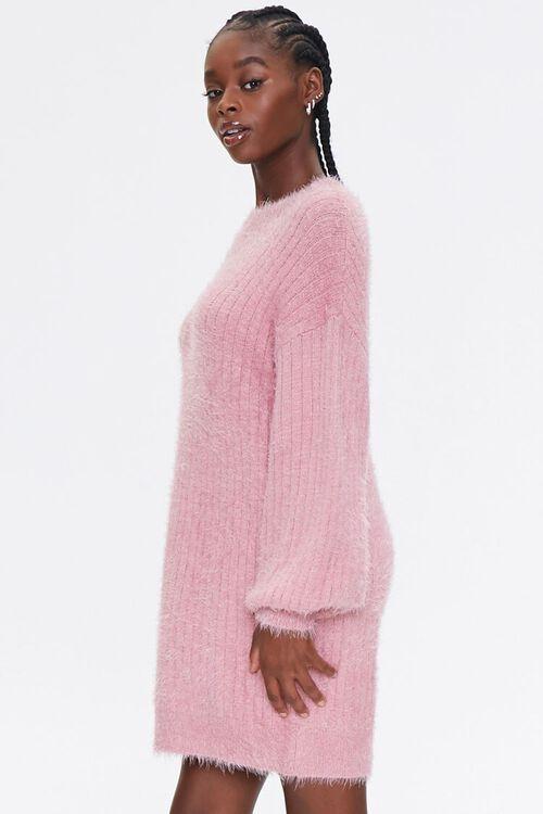 Fuzzy Knit Sweater Dress, image 2