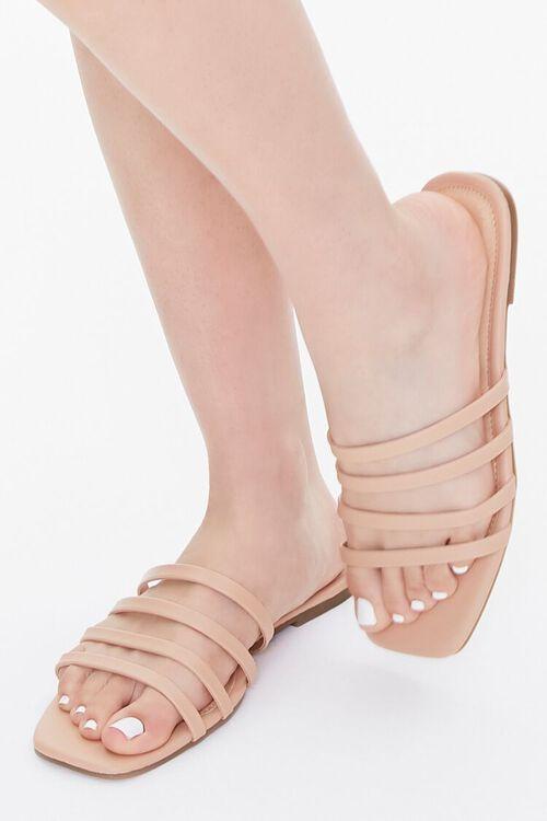 Strappy Square-Toe Sandals, image 1