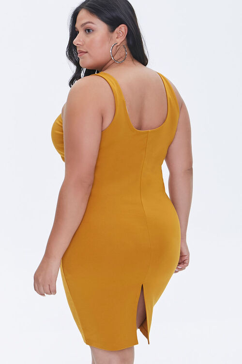 Plus Size Bodycon Tank Dress, image 3