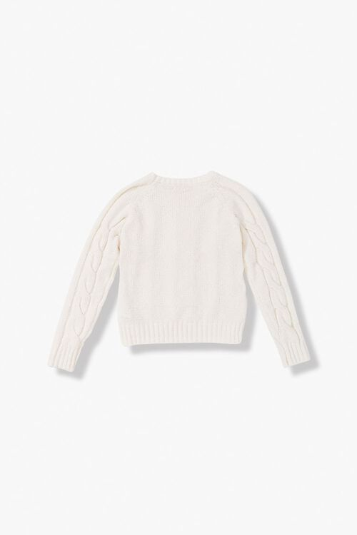 Girls Cable-Knit Sweater (Kids), image 2