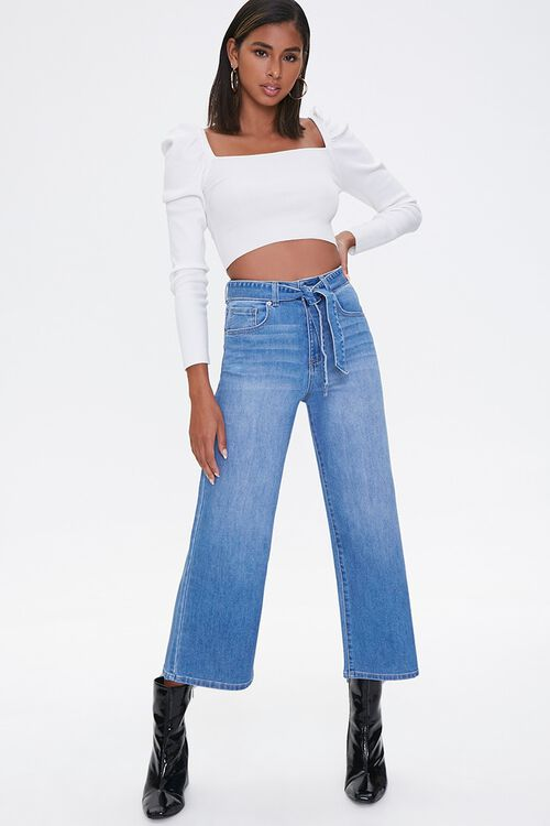 Recycled Capri Jeans, image 1
