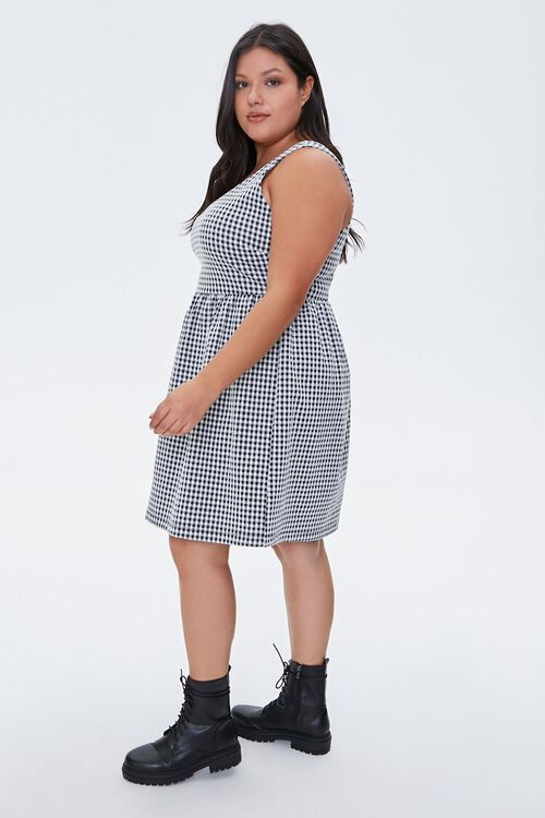 Plus Size Gingham Dress, image 2