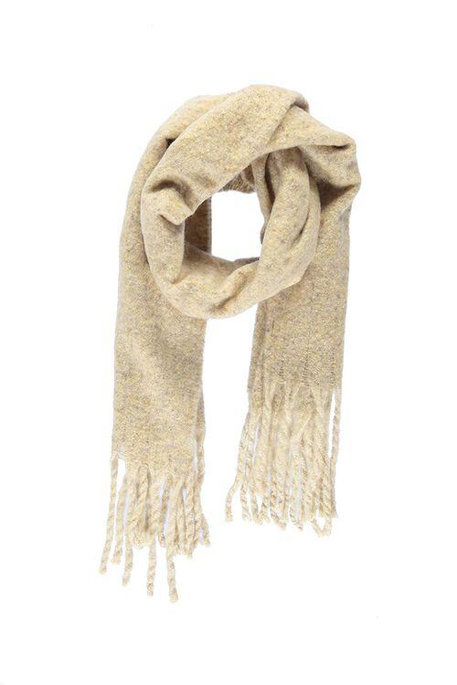 Marled Brush Knit Scarf, image 1