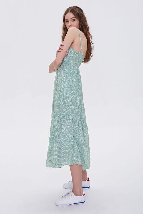 Spotted Print Cami Midi Dress, image 4
