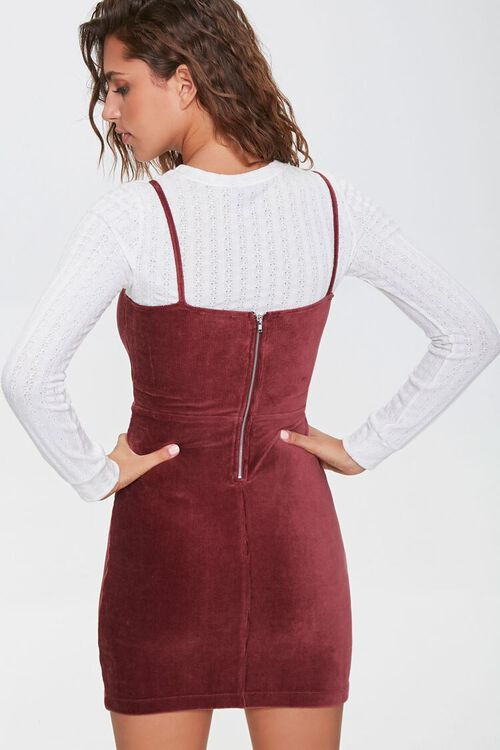 Ribbed Mini Cami Dress, image 3