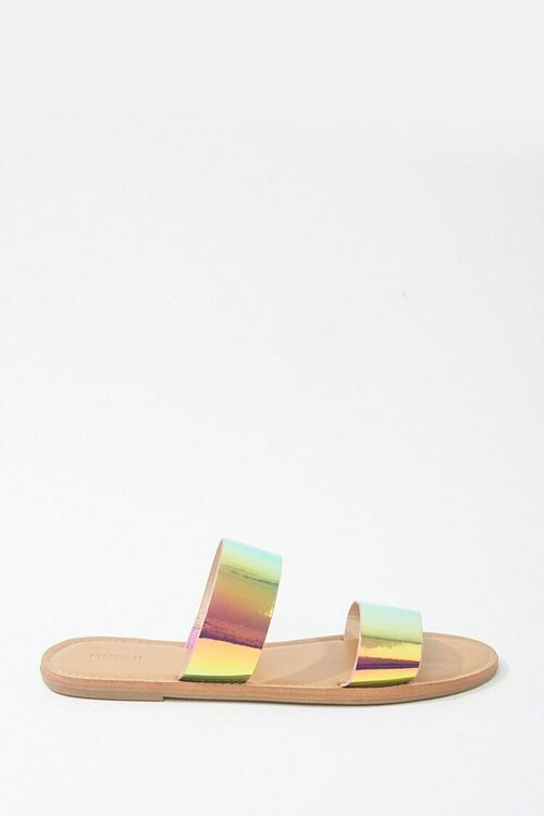 Vinyl Holographic Sandals, image 1