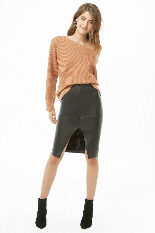 Ribbed Boat Neck Sweater, image 4