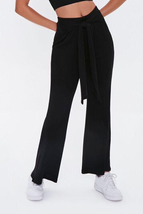 Tube Top & Tie-Belt Pants Set, image 4