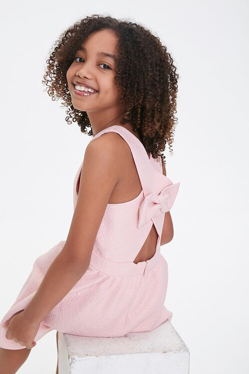 Girls Floral A-Line Dress (Kids), image 1