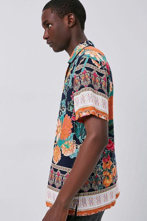 Tropical Print Cuban Shirt, image 3