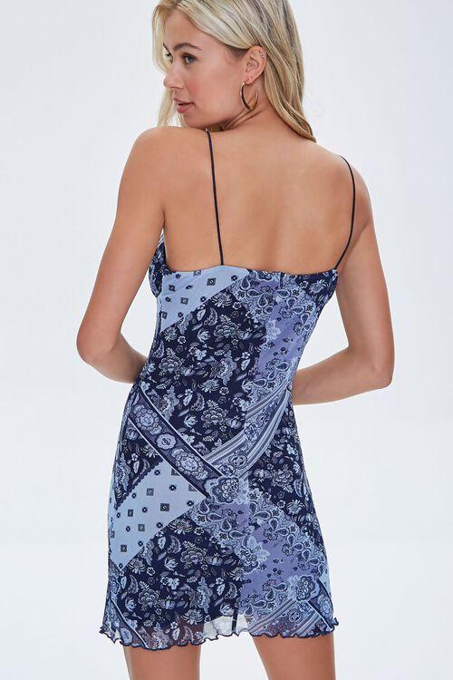 Ornate Paisley Mini Dress, image 3