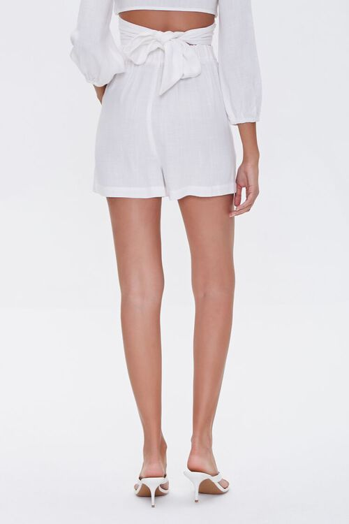 High-Rise Button-Fly Shorts, image 4