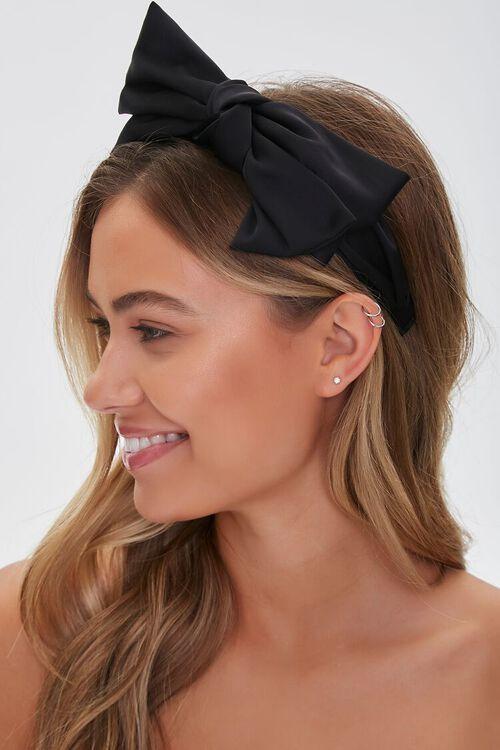 Satin Bow Headband, image 1