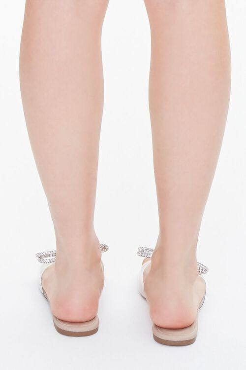 Clear-Strap Bow Sandals, image 3