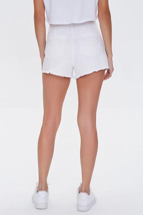 Lace-Up Denim Shorts, image 4
