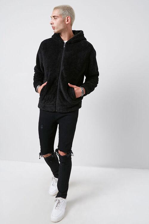 Hooded Teddy Jacket, image 4