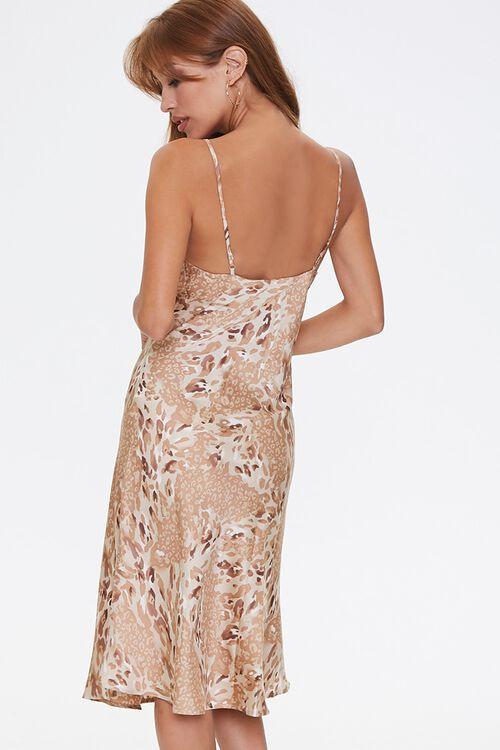 Leopard Print Slip Dress, image 3