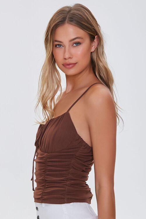 Ruched Cropped Cami, image 2