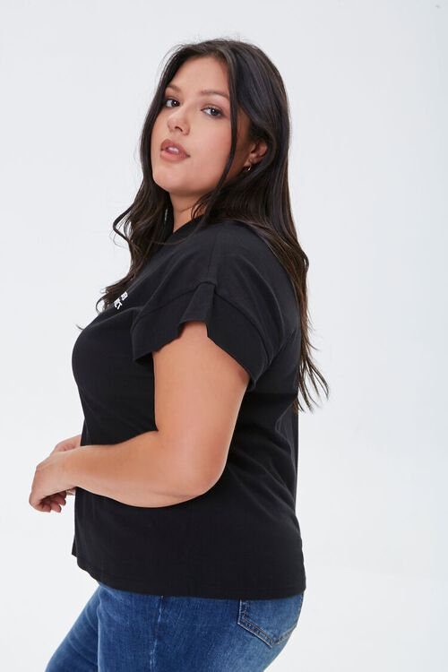 Plus Size Perfectly Imperfect Graphic Tee, image 2