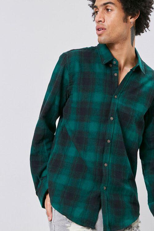 Flannel Plaid Shirt, image 1