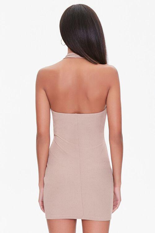 Halter Cutout Bodycon Dress, image 3