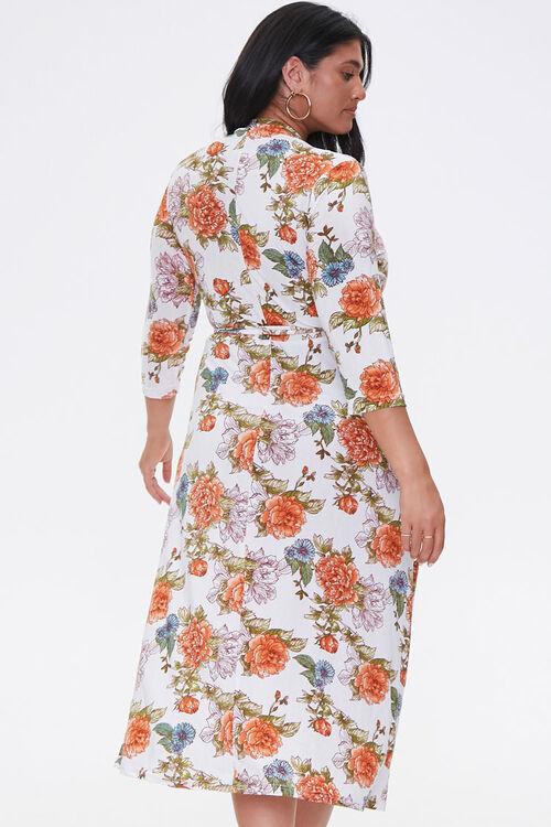 Plus Size Floral Print Dress, image 3
