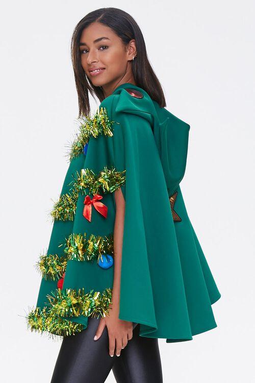 Christmas Tree Poncho, image 3