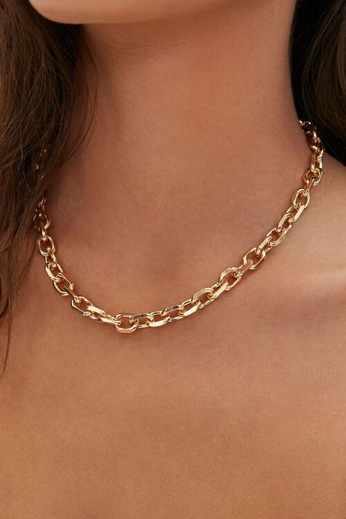 Chunky Chain Necklace, image 1