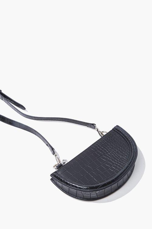 Faux Croc Crossbody Bag, image 5