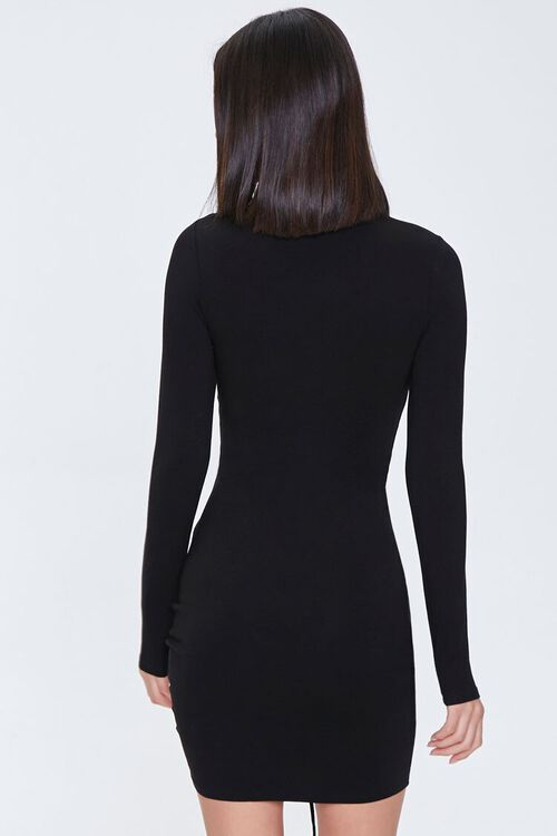 Cutout Ruched Bodycon Dress, image 3