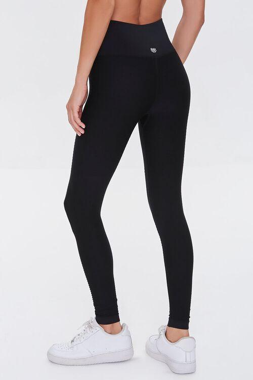 BLACK Active Seamless Leggings, image 4