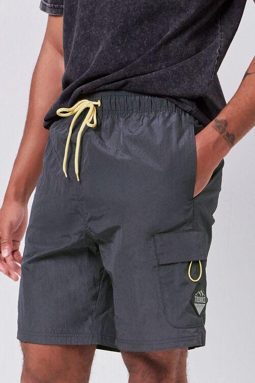 Drawstring Utility Shorts, image 1