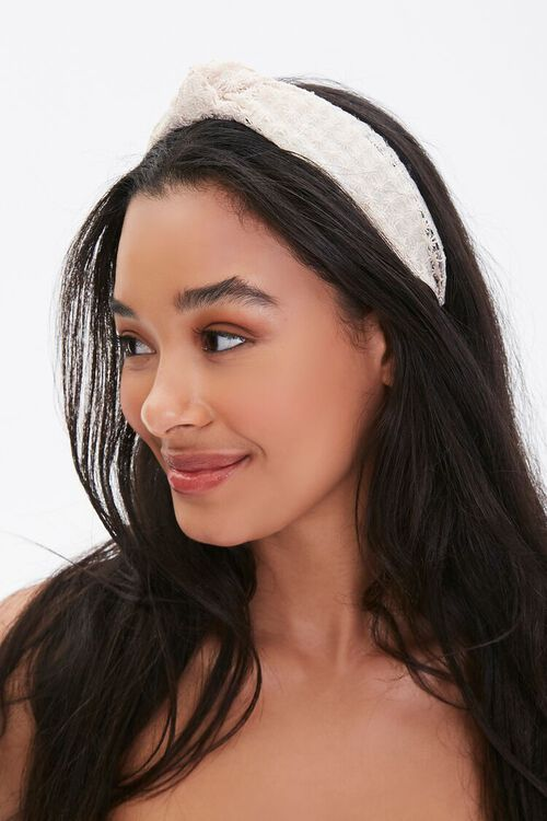 Floral Lace Headband, image 2
