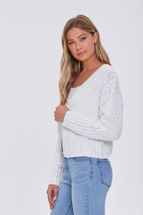 V-Neck Buttoned Cardigan Sweater, image 2