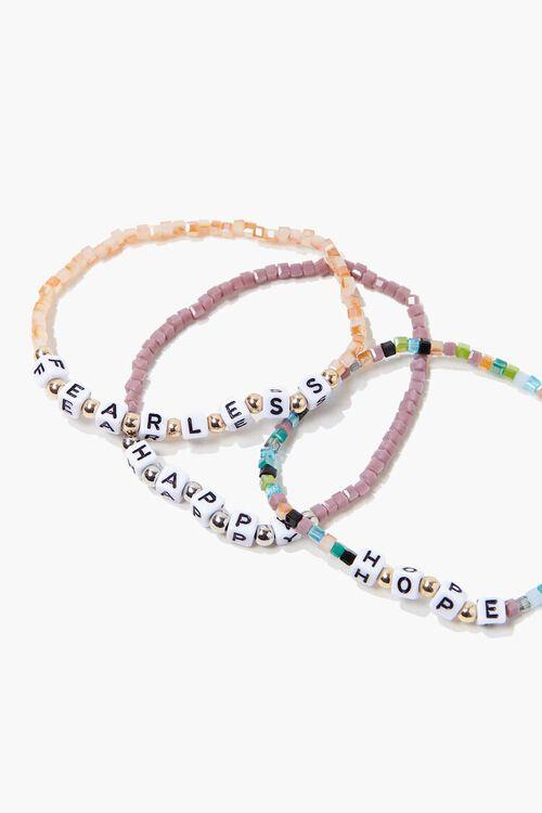 Fearless Beaded Bracelet Set, image 1