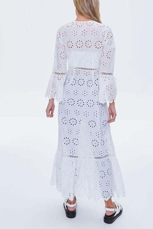 Bell-Sleeve Eyelet Kimono, image 5