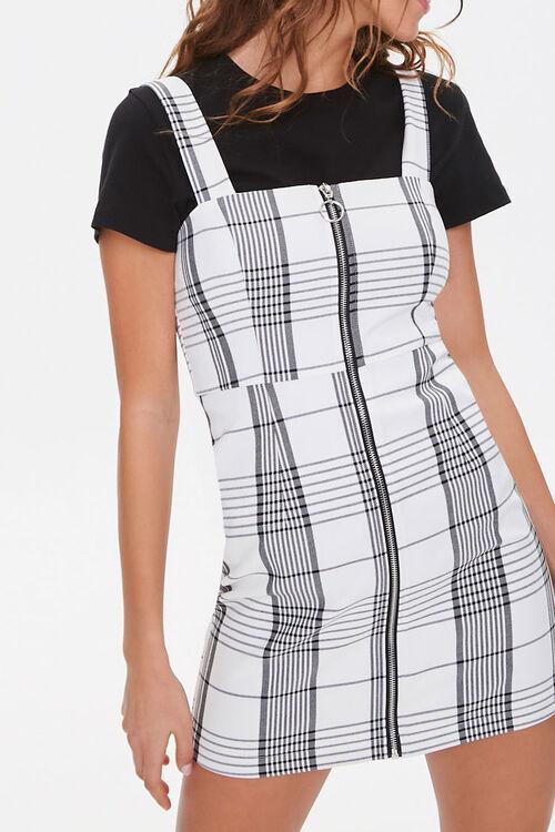 Plaid Pinafore Dress, image 5