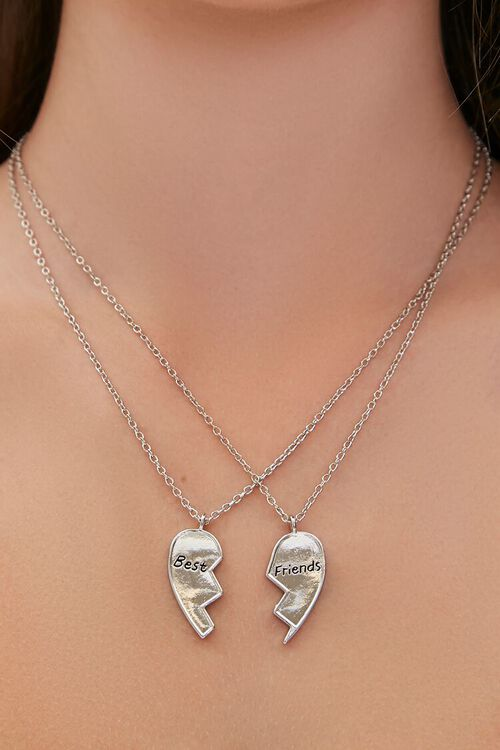 Upcycled Best Friends Necklace Set, image 1