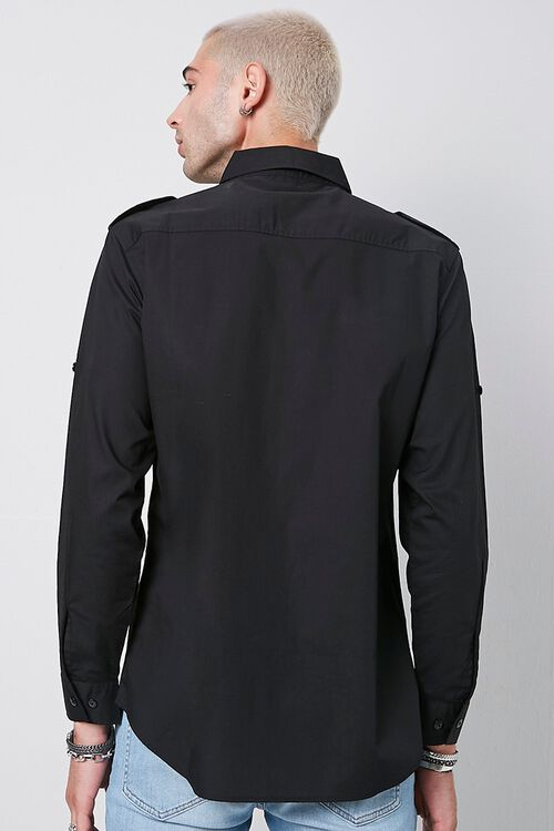 Epaulet Flap Pocket Shirt, image 3