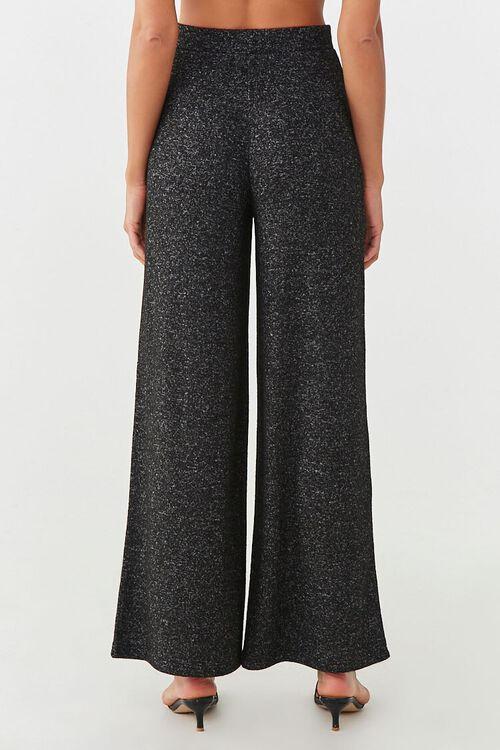 CHARCOAL Wide-Leg Fleece Sweatpants, image 4