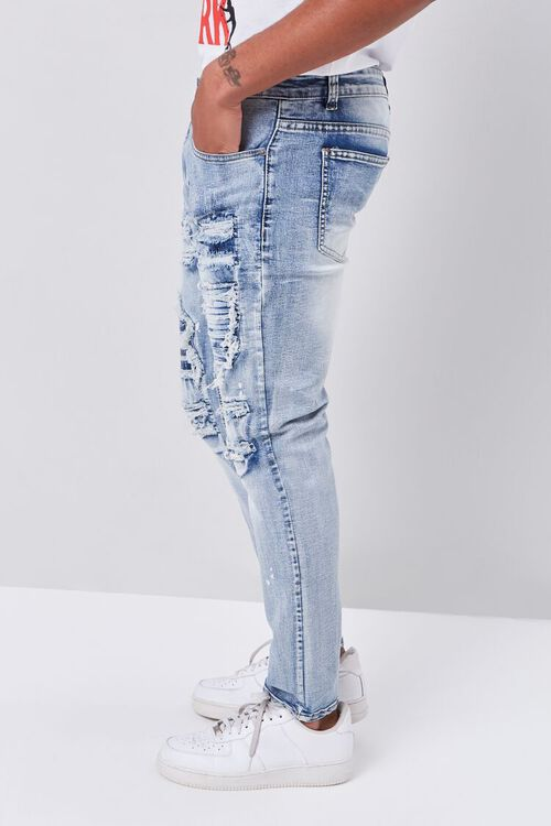 Distressed Paint Splatter Jeans, image 3