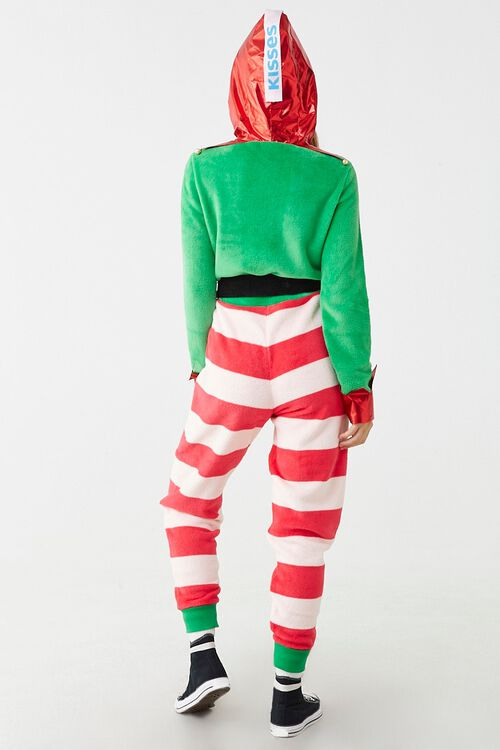 Holiday Hooded Hersheys Jumpsuit, image 3