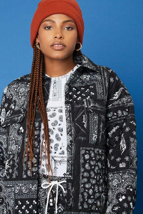 BLACK/WHITE Hot Wheels Paisley Jacket, image 6