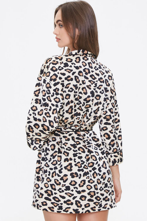 Leopard Print Robe, image 3